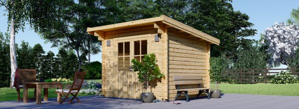 Caseta de jardín de madera MALTA (34 mm), 3x3 m, 9 m²