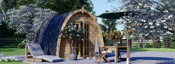 Caseta de jardín de madera BRETA (28 mm), 3x3 m, 9 m²