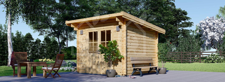 Caseta de madera de jardín MALTA (34 mm), 3x3 m, 9 m² visualization 1