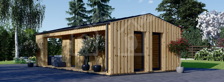 La casa ANNA Scandinavia 44 mm + revestimiento 20 mm, 37 m² visualization 4