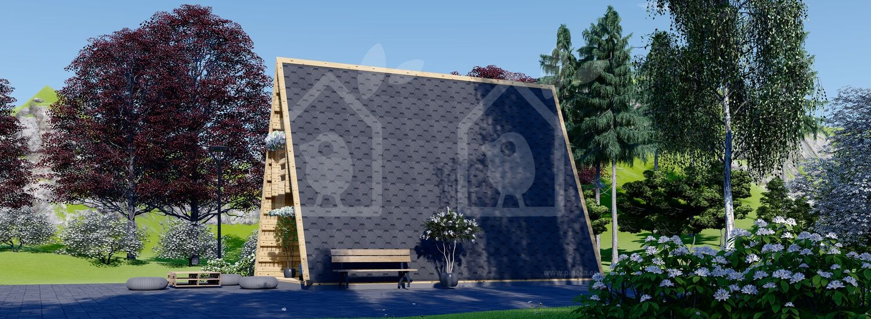 Caseta de jardín TIPI 4.5 m x 7 m 23 m² visualization 3