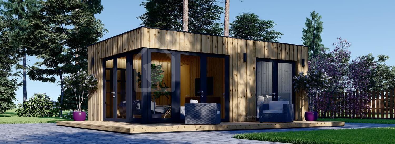 Casa de jardín PREMIUM (Aislada, paneles SIP), 6.5x4.5 m, 30 m² visualization 1