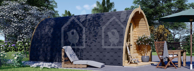 Caseta de jardin BRETA (28 mm), 3x6 m, 18 m² visualization 3