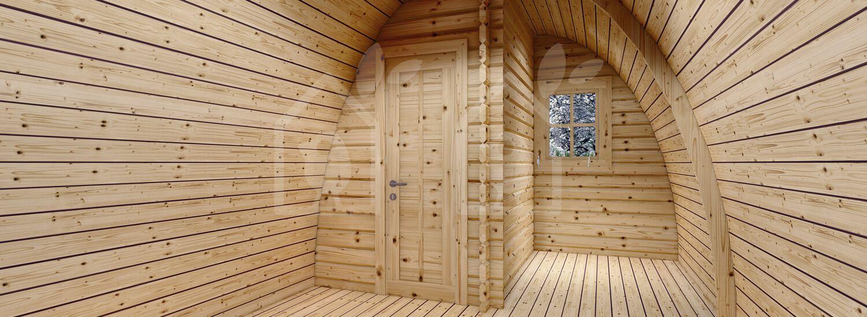 Caseta de jardin BRETA (28 mm), 3x6 m, 18 m² visualization 8