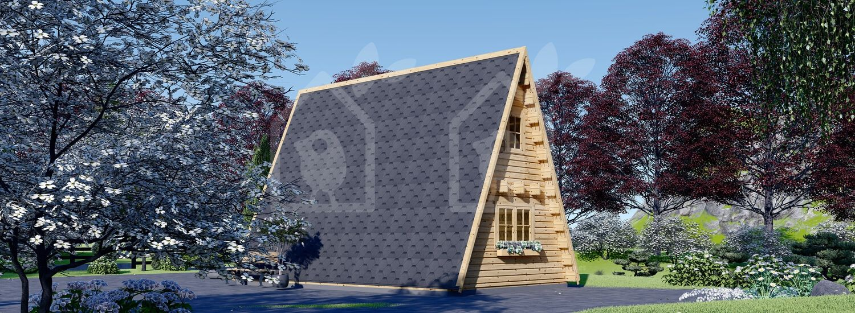 Caseta de jardín TIPI 4.5 m x 7 m 23 m² visualization 4
