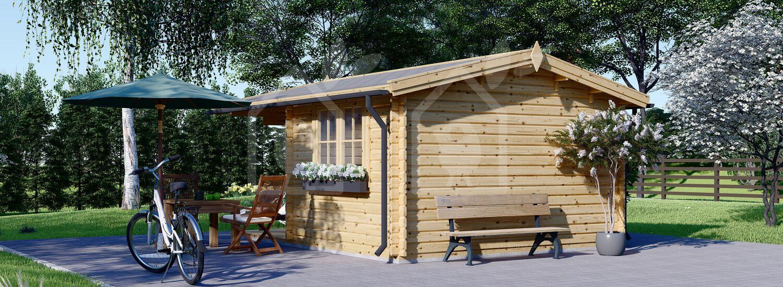 Caseta de jardín OSLO 19.5 m² 34 mm visualization 5