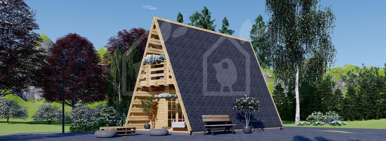 Caseta de jardín TIPI 4.5 m x 7 m 23 m² visualization 2