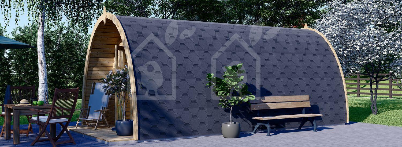 Caseta de jardin BRETA (28 mm), 3x6 m, 18 m² visualization 6