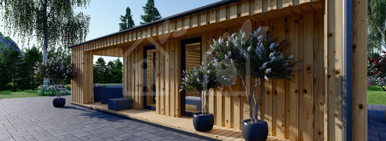 La casa ANNA Scandinavia 44 mm + revestimiento 20 mm, 37 m² visualization 9
