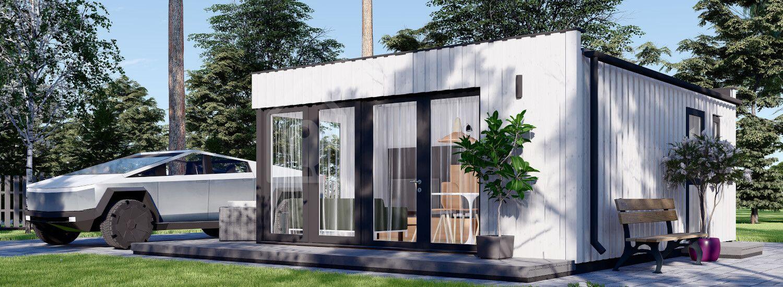 Casa de jardín ELON (paneles SIP, aislada), 6x5 m, 30 m² visualization 1