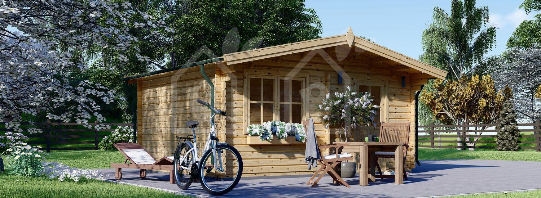 Caseta de jardín DREUX 19.9 m² (5x4) 44 mm visualization 5