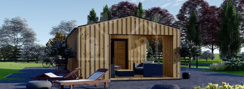 La casa ANNA Scandinavia 44 mm + revestimiento 20 mm, 37 m² visualization 7