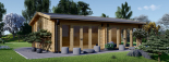 Casa de madera para jardín MARINA (44 mm), 48 m² visualization 3