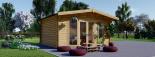 Caseta de jardín MARTA 20 m² (5x4) 44 mm visualization 3