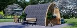 Caseta de jardin BRETA 12 m² (3x4) 28 mm visualization 5