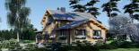 Casa de madera HOLLAND (66 mm), 105 m² visualization 8