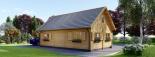 La casa EMMA 44+44 mm, 46 m² + piso visualization 5