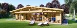 La casa RIVIERA 66 mm, 119.6 m² visualization 3