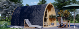 Caseta de madera para jardín BRETA (28 mm), 3x5 m, 15 m² visualization 2