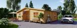 La casa FILL 44 mm, 60 m² visualization 2