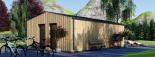 Casa de jardín ANNA SCANDINAVIA (44 mm + revestimiento) , 37 m² visualization 5