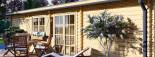 Casa de madera UZES (44 mm), 70 m² visualization 8