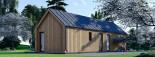 Casa de madera ADA (44 mm + revestimiento), 50 m² visualization 8