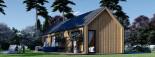 Casa de madera ADA (44 mm + revestimiento), 50 m² visualization 7