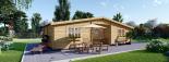 La casa FILL 44 mm, 60 m² visualization 6