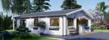 Casa de madera para vivir ALICE (44+44 mm, aislada PLUS), 72 m² visualization 7