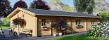 Casa de madera JULIA (66 mm), 103 m² visualization 6