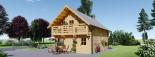 La casa LANGON 44+44 mm, 107m² visualization 7