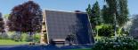 Caseta de madera TIPI, 4.5x7 m, 23 m² visualization 3