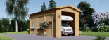 Garaje Camping Car 400x800 44 mm, 32 m² visualization 2