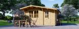 Caseta de madera para jardín BENINGTON (34 mm), 4,5x3 m, 13 m² visualization 7
