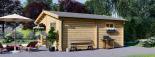 Caseta de jardín OLIVIA 36 m² (6x6) 44 mm visualization 4