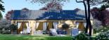 Casa de madera ADA (44 mm + revestimiento), 50 m² visualization 4