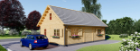 La casa EMMA 44+44 mm, 46 m² + piso visualization 3
