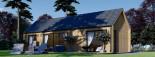 Casa de madera ADA (44 mm + revestimiento), 50 m² visualization 6