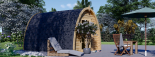 Caseta de jardin BRETA 12 m² (3x4) 28 mm visualization 3