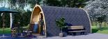 Caseta de madera para jardín BRETA (28 mm), 3x5 m, 15 m² visualization 5