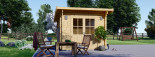 Caseta de jardín de madera MALTA (34 mm), 3x3 m, 9 m² visualization 3