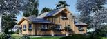 Casa de madera HOLLAND (66 mm), 105 m² visualization 6