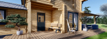Casa de madera HOLLAND (66 mm), 105 m² visualization 9