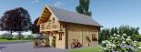 La casa LANGON 44+44 mm, 107m² visualization 6