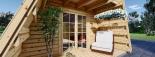 Caseta de madera TIPI, 4.5x7 m, 23 m² visualization 9
