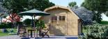 Caseta de madera ORLANDO (34 mm), 4x4 m, 16 m² visualization 2