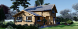 Casa de madera HOLLAND (66 mm), 105 m² visualization 1
