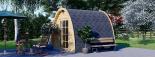 Caseta de jardín de madera BRETA (28 mm), 3x3 m, 9 m² visualization 5