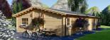 Casa de madera JULIA (66 mm), 103 m² visualization 7